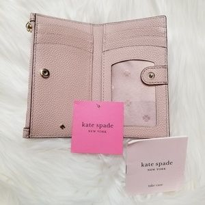 NEW Kate Spade Margaux Slim Leather Bifold Wallet